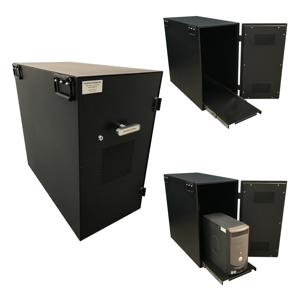 Trusted Systems Secure Computer Cabinets and CPU Enclosures